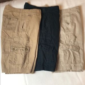 Collection of Urban Pipeline Cargo Shorts—Size 32